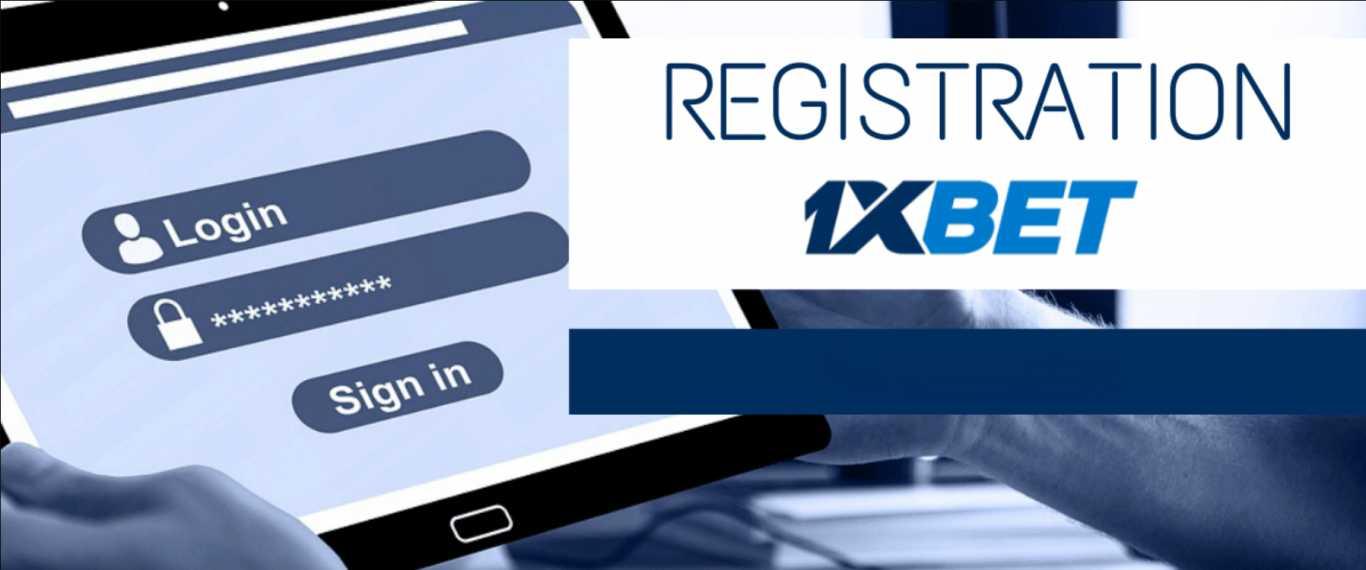 Register 1xBet Kenya